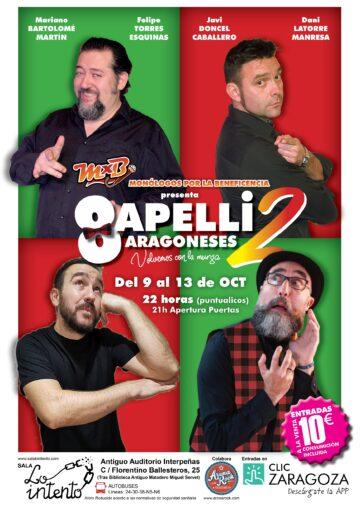 Humor Monólogos Conciertos en Zaragoza
