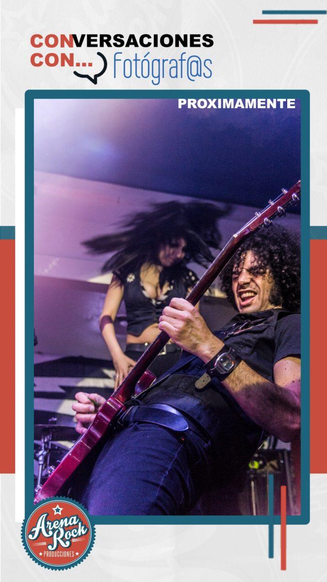 Fotografía y Música. Arena Rock Producciones. STORIES