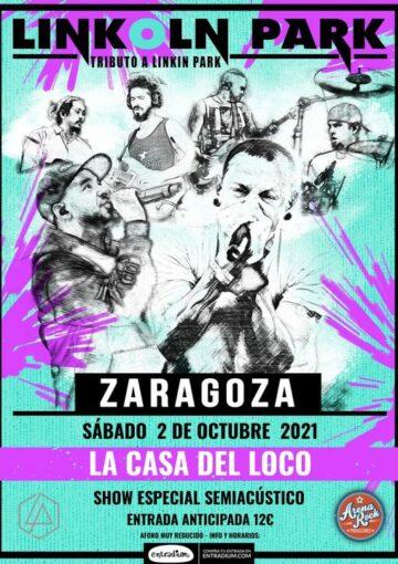 Linkoln-Park-La-Casa-del-Loco-Arena-Rock-Zaragoza