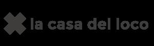 OK 2019-Logo LA CASA DEL LOCO Negro X